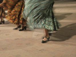 Mexican dancers by choyerita