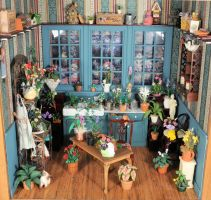 Gardening Room Miniature by MiniatureMadness