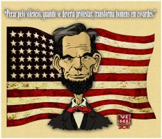 Abraham Lincoln_quote in portuguese by ViniVix