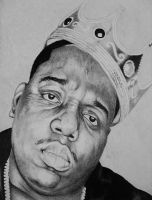 Biggie Smalls by carlosvelasquezart