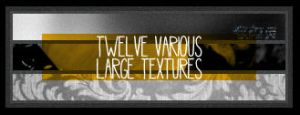 twelve various large textures by isleofyew
