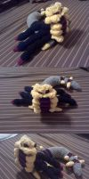 Giratina Crochet Commission by ScarletPianoWires