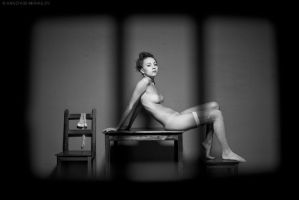 black and white story by Anna-model