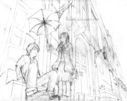 sketch_rain by pika92