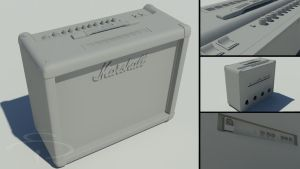 Marshall Haze40 amp - clay by rocneasta