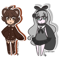 Shadow Chibis by 1Greengrass1