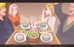 Family Dinner by Kaeta8