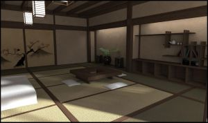 Japanese Room by RetroDevil