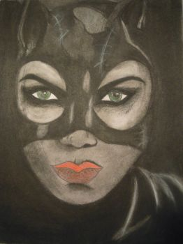Catwoman by YourWayIsLonely