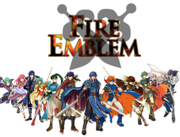 All the mains of Fire emblem by Redchampiontrainer01