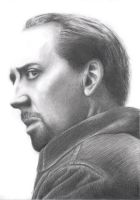 Nicolas Cage by CoolGAlien