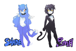 Puma and Shade_refs by f-sonic