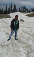 At Gulmarg (may 6th) 2 by krishsajid