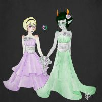 Rose and Kanaya wedding by Sotfalk