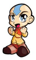 Aang Sticker by JoeOiii