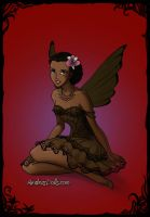 African American Fairy by Kailie2122
