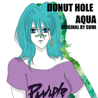 UTAU AQUA Donut hole by Aqualastrange
