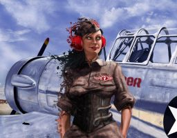 Pepper, The aviator by PepperProject
