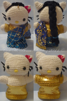 Hello Kitty in Sari by BrigetteMora