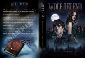 Wolf Legend Novel Cover Design by sugarpoultry