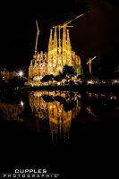 Basilica La Sagrada Familia by cupplesey