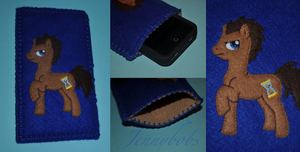 MLP Dr Whooves phone case by Blindfaith-boo