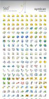 S60 Prototype Icons by Flahorn