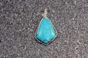 Turquoise Poise by magpie-poet