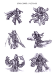 StarCraft: Protoss by WEAPONIX