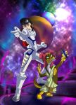 Space Dandy and Westen meow by Zecon