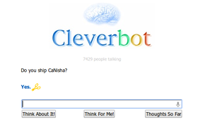 Cleverbot Ships CaNisha by TrinaLovesToonLink