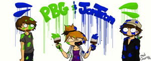 PBG and JonTron by PaperPlaneLetters