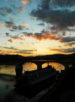 Chattanooga Sunset by agapelove490