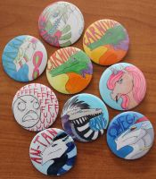 Buttons by katarrhe