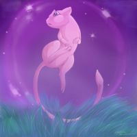 Mew! :3 by Iceviperess