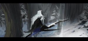 Assassin's Creed 3 Speed Paint by SamTheConceptArtist