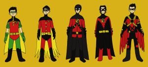 Robin Outfits: Tim by evilfuzzle2