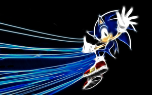 Sonic Wallpaper by PorkyMeansBusiness