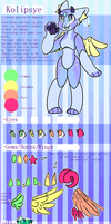 [ Closed Species ] Kolipsye Reference Sheet by miewunii