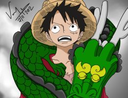 One Piece Manga 688 by pradyumdesikan
