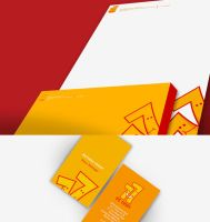 Visual Identity for 77 by artschoolcat