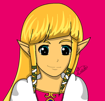 Anime Zelda by ZeldaGirl88
