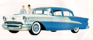 age of chrome and fins : 1955 Oldsmobile by Peterhoff3