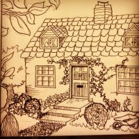 Cottage by annalouiseyoungs