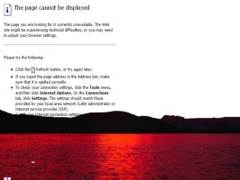 Sunset Can Not Be Displayed by RenegadeOfTrance