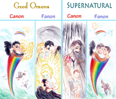 Good Omens and Supernatural: A Brief Comparison by Kaytara