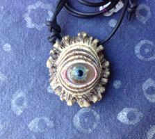 Eye Pendant G1 by DonSimpson