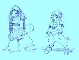 Extreme SkateBoarder Concepts by Eyth