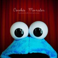 Cookie Monster by kurosakii