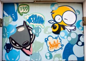 Blue Pattern by ricz777